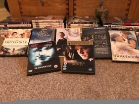 Box of 42 Various Dvds