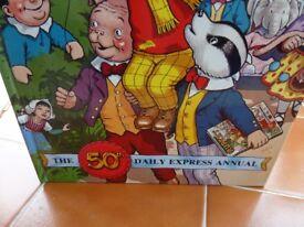Rupert Bear 50th Anniversary edition