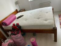 Gorgeous Warren evans double bed frame - mattress can be included!