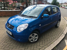 2010 (10) KIA PICANTO 1.1 STRIKE PETROL AUTOMATIC 5 DOOR 1 PREVIOUS OWNER FULL KIA SERVICE HISTORY