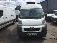PEUGEOT BOXER MWB FRIDGE VAN.2007.STANDBY.LONG MOT.ELEC WINDOWS.NO VAT