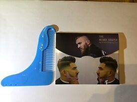 Beard shaper comb tool men's - ideal boot sale 190 units