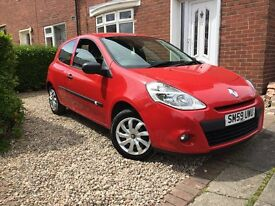 RENAULT CLIO EXTREME 59 REG 79000 WITH SERVICE HISTORY MOT JANUARY 2018