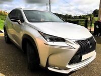Superb Opportunity to Buy Lexus NX300H in Mint Condition