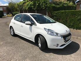 (64) Peugeot 208 - 5 door - White - A1 Condition - full service history
