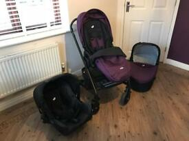 Joie 3 in 1 travel systems