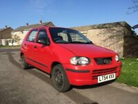 2004 Suzuki Alto GL 1.1 Petrol with VERY low mileage & 5 months MOT