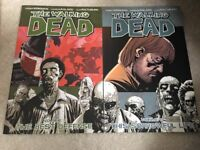 The walking dead volumes 5 and 6