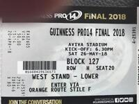 Guinness PRO14 Final Tickets 26th May