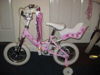 Girl's First Bicycle