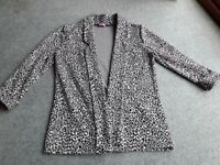 d69cbcbcc5a1 Girls Animal Print Jacket age 11-12 years