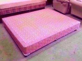 Weird short South African king size divan bed base one piece 150x188 cm