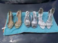 Ladies size 5 summer shoes