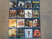 Blu Ray bundle collection films movies x16 all great condition
