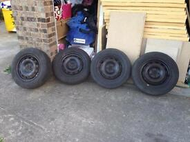 Ford Focus mk2 wheels and tyres