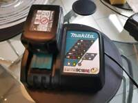Makita DC18RC battery charger only.