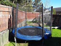 8 foot trampoline.