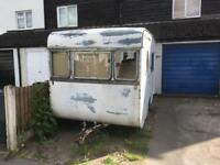 Vintage 1950's Eccles caravan 07847250260