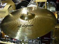 "zildjian 22""medium heavy ride cymbal,new"