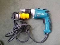 MAKITA FS4300 110V Drywall screw driver with adapter plasterboard screwgun gypsum