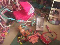 Dolls pram accessories nenuco doll etc