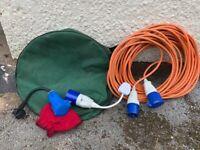 Caravan / Camper Electric Hook Up Cable UK & Europe
