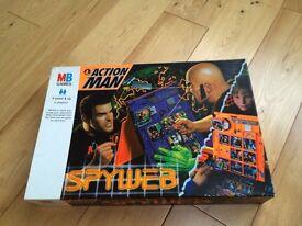 Action Man Spyweb game