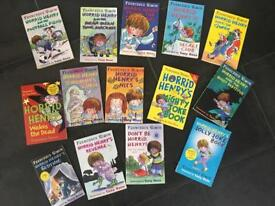 Horrid Henry book bundle