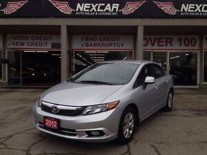 2012 Honda Civic LX 5 SPEED A/C CRUISE CONTROL 122K