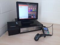 ★ Retail Epos & Touchscreen Pos Till ideal for Discount, Phone, Hardware / DIY Shop's, Dry Cleaners