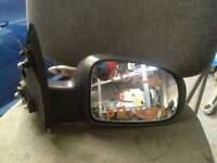 Vauxhall Corsa C drivers wing mirror used