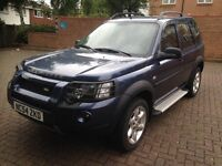 LEFT HAND DRIVE FREELANDER SPORTS 53000 MILES IN SOUTH EAST LONDON