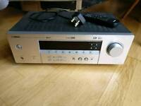 Yamaha rx-v350 home cinema amp with Sony speakers