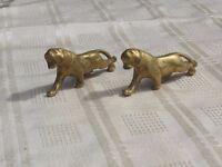 Brass figures
