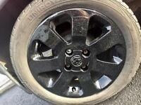 "Vauxhall Corsa C Sxi 15"" Alloy Wheels and Tyres"