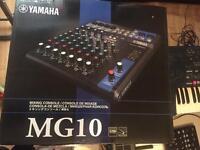Yamaha MG10 mixer