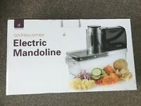 New Electric Mandoline