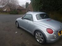 DAIHATSU COPEN 2004 roadster convertible 65k miles 659cc TURBO, right hand drive