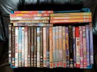 34 children's dvds
