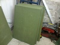 Laminate Flooring Underlay 23inch x 24 inch, 28 full boards +smaller bits, Bargain £10