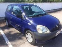 TOYOTA YARIS 1.0 WITH ONLY 70,000 MILES, MOT 28th OCTOBER, DRIVES GREAT