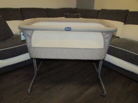 CHICCO NEXT TO ME CRIB COT NEXT2ME DOVE GREY INSTRUCTIONS BAG STRAPS