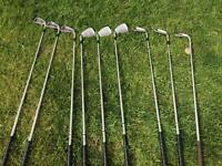 Golf clubs - ideal for a starter set