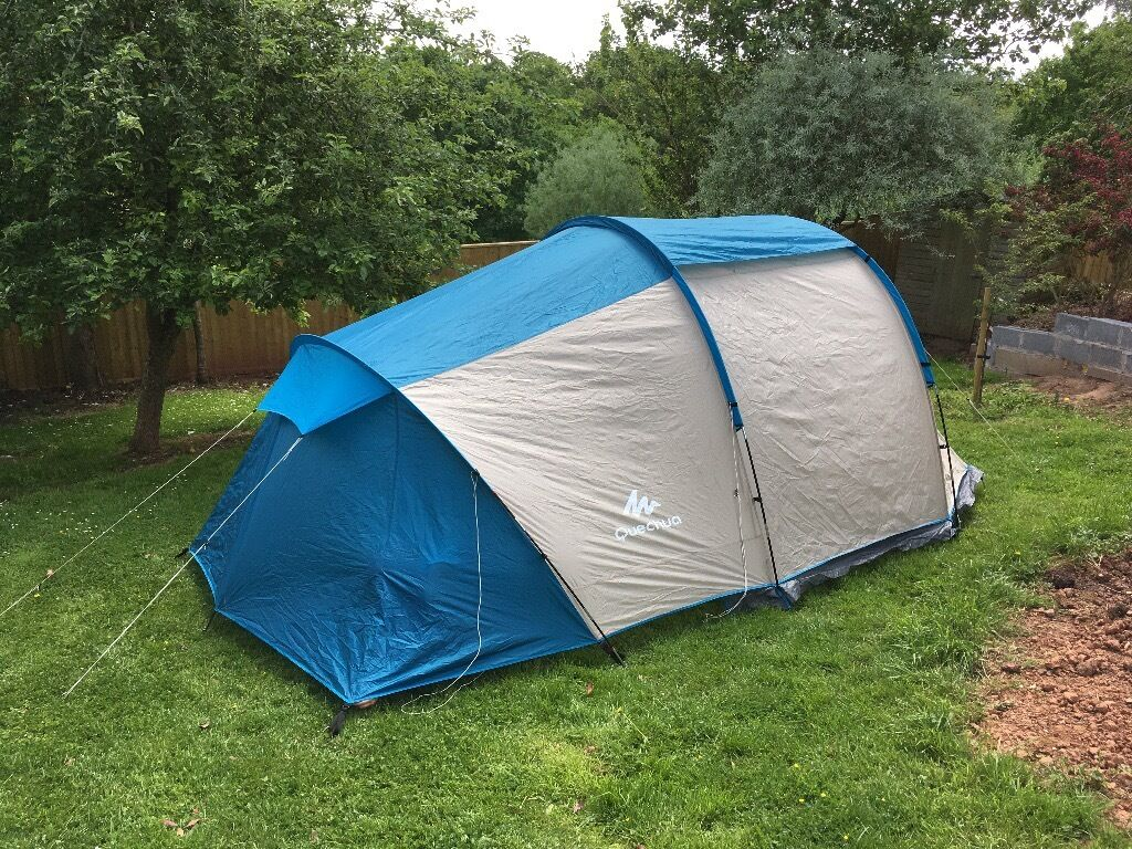 Quechua arpenaz family 4 1 tent 4 man large tent used for Living room quechua