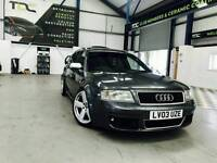 2003 Audi RS6 , 4.2 Bi-Turbo, Fully Loaded, Full Service History, Immaculate