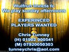 EXPERINCED PLAYERS WANTED Wolverhampton
