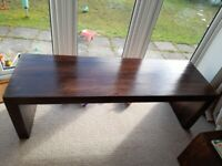 Very long Brown Wooden Coffee/Play Table