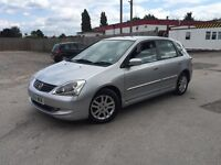 Honda Civic 1.6 Automatic Silver 5 Door