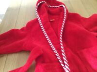 Toddler dressing gown