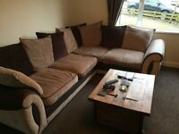 Great Condition DFS Corner Sofa, Swivel Chair & Footstool! £500 ONO